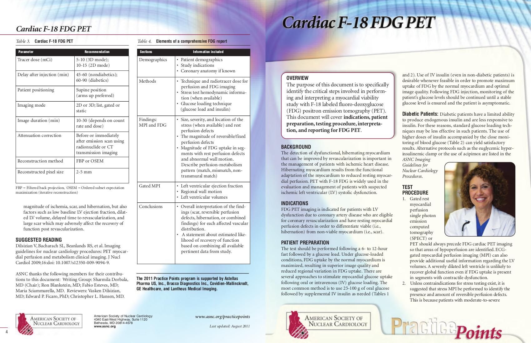 PET Imaging in Cardiology - Mita: Detail